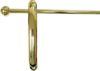 D-5286 Morris Chair Rod - Polished Brass Finish