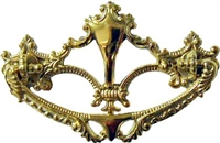 B-0650 Victorian Drawer Pull - Brass