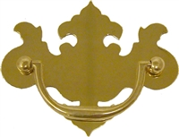 B-0687 Chippendale Drawer Pull - 3""
