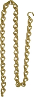 B-9577 Double Jack Lamp Chain - Brass