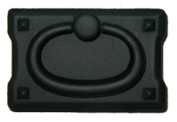 BL-0689 Mission Style Pull - Black Finish