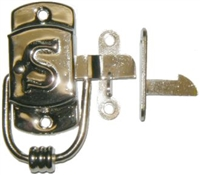 "N-1518L Left Hand SELLERS ""S"" Cabinet Latch - N/P"