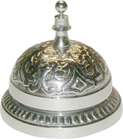 N-9632 Desk Bell - Nickel Plated