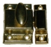 D-1432 Small Cupboard Turn - Brass Plated