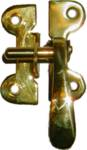 B-1547 Right Hand Flush Mount McDOUGALL Latch - Brass