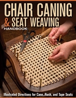 A-0006 CHAIR CANING & WEAVING HANDBOOK