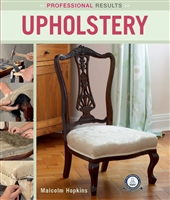 A-0092 PROFESSIONAL RESULTS: UPHOLSTERY BOOK