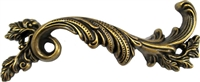 "AB-0604 French Provincial Right Hand Drawer Pull - 3-3/4""CC"