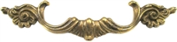 "AB-0624 French Provincial Drawer Pull - 3-7/8""CC"