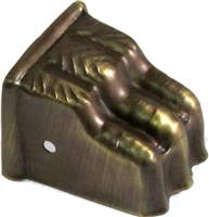 AB-2303 Antiqued Brass Claw Foot - Small