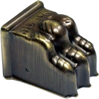 AB-2323 Antiqued Brass Claw Foot - Medium