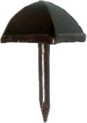 AC-3532 Decorative Nail - Pyramid - 3/8""