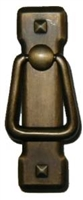 AD-0679 Mission Style Pull - Antique Brass Finish
