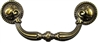 "AD-0754 Colonial Revival Drawer Pull - 3-3/4""CC"