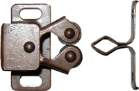 AD-1480 Double Roller Catch - Statuary Bronze