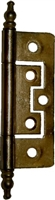 AD-1701 No Mortise Cabinet Hinge - Antiqued