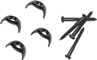 AS-2700 Hiphugger Clips - Black Finish