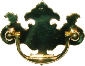 B-0677 Chippendale Drawer Pull - 2-1/2""