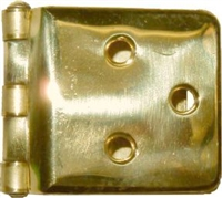 B-1557 SELLERS Wrap-Around Hinge - Brass