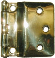 B-1558 SELLERS Fold Back Hinge - Brass