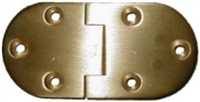 B-1751 English Butler Tray Hinge - Brass