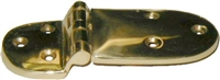 B-2087 Ice Box Hinge - Brass