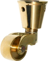 B-2450 Cup Caster - Brass - Small