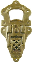 B-3990 Large Trunk Drawbolt - Brass