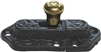 BL-1423 Cabinet Latch w/ Brass Knob