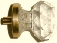C-0304 Faceted Acrylic Knob