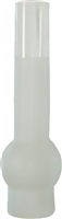 C-9558F Frosted Glass Chimney - 12""