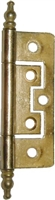 D-1701 No Mortise Cabinet Hinge - Brass Plated