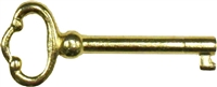 D-1928 Key for D-1810 Lock - Brass Finish