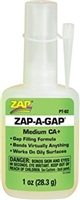 G-6882 Zap-A-Gap Adhesive - Medium - 1 oz.