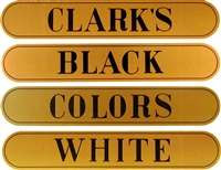 H-1020 CLARK'S SPOOL COTTON Spool Cabinet Decals