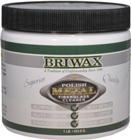 J-3463 Briwax Metal Polishing Compound - 16 oz.