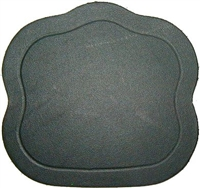 L-4228 Trunk Lock Cover - Black