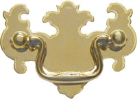 LS-120 Chippendale Drawer Pull - Brass - 2""