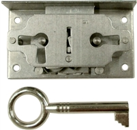"M-1814 Half Mortise Lock with Key - 3/4"" Backset"