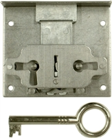 "M-1816 Half Mortise Lock with Key - 1-9/16"" Backset"