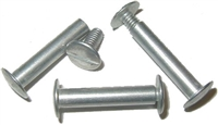 M-3757 Screw Post - Aluminum - 1""