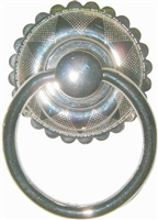 N-1224 Eastlake Ring Pull - Nickel Plated