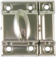 N-1432 Small Cupboard Turn - Nickel Plated