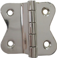 N-1506 HOOSIER Cabinet Hinge - Nickel Plated