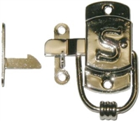 "N-1518R Right Hand SELLERS ""S"" Cabinet Latch - N/P"