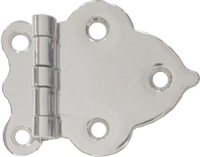 N-1553 BOONE Cabinet Hinge - Nickel Plated