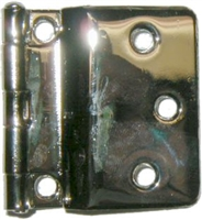 N-1558 SELLERS Fold Back Hinge - Nickel Plated