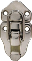 N-3910 Small Trunk Drawbolt - Nickel Plated