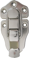 N-3924 Medium Trunk Drawbolt - Nickel Plated