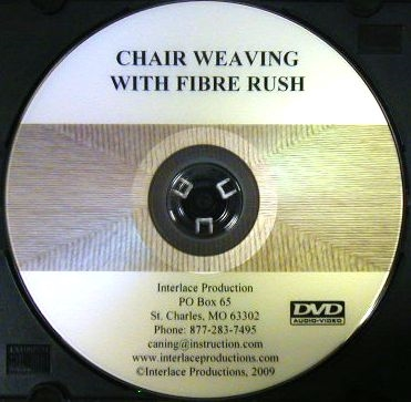 V-0013 Chair Weaving with Fiber Rush DVD